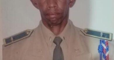 de tres disparos capitán pensionado del Ejército en Pedro Brand