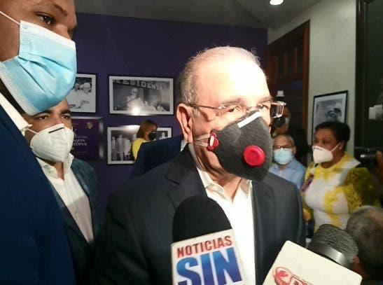 Danilo a militantes del PLD: «en política el trabajo no se pierde, sino que se acumula»