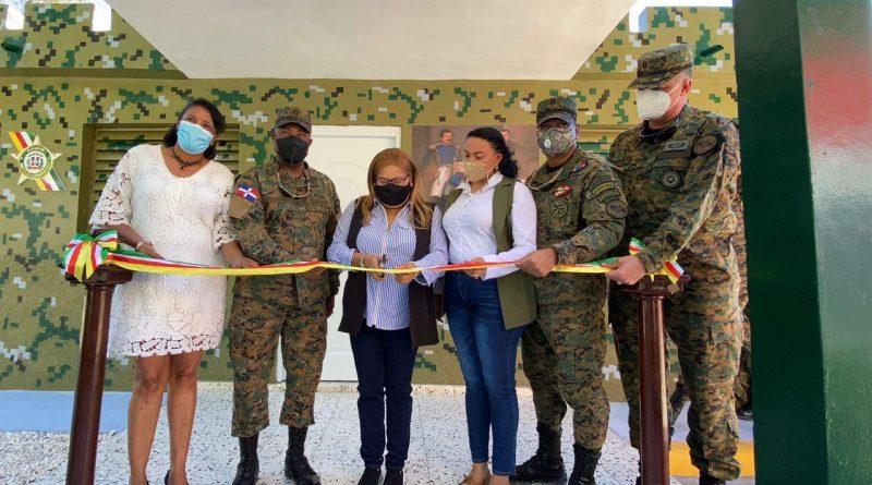 Inauguración Destacamento Militar Peralta ERD., Provincia Azua.