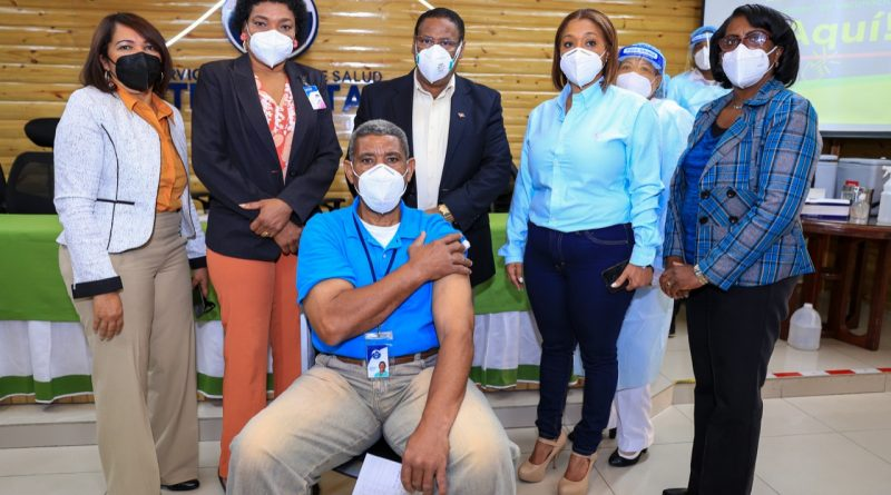 SRSM instala en su sede unidad de vacunación contra Covid-19 para la población