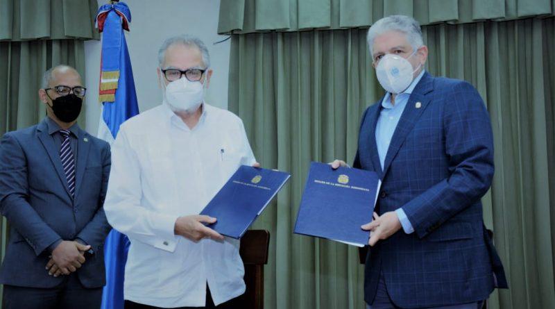 El Senado de la República y el Ministerio de Economía, Planificación y Desarrollo firman acuerdo de cooperación interinstitucional que busca la optimización de las funciones legislativas