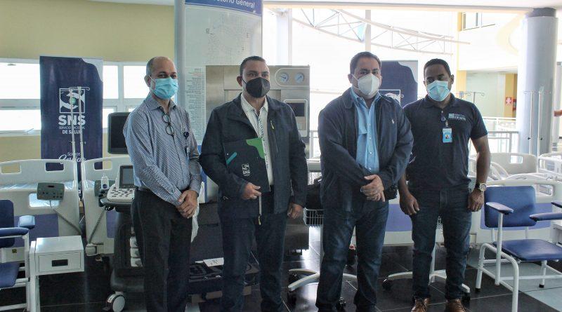 Hospital Ney Arias Lora recibe equipos médicos  del SNS valorados en más de RD$7MM